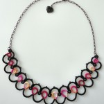 Ripple Tatted Necklace Pattern , 8 Nice Tatted Necklace Pattern In Jewelry Category