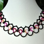 Ripple tatted necklace , 8 Nice Tatted Necklace Pattern In Jewelry Category