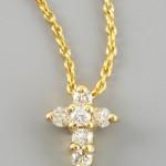 Roberto Coin Baby Cross Necklace , 7 Nice NRoberto Coin Baby Cross Necklace In Jewelry Category