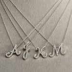 Roberto Coin Diamond Initial Necklace , 7 Charming Roberto Coin Initial Necklace In Jewelry Category