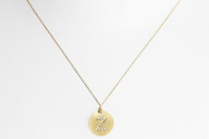 Jewelry , 7 Charming Roberto Coin Initial Necklace : Roberto Coin Gold