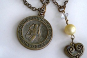 570x587px 7 Cool Saint Christopher Protect Us Necklace Picture in Jewelry