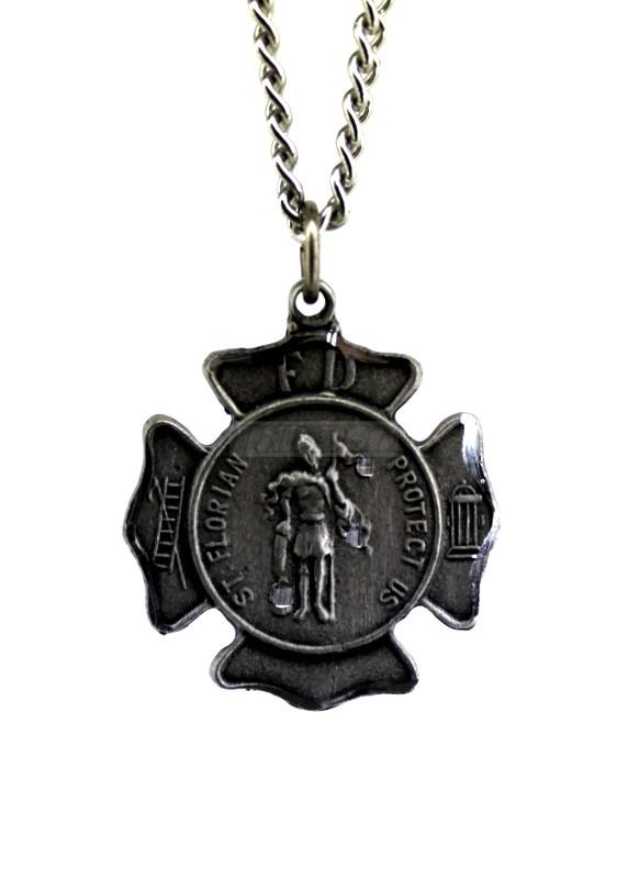 Jewelry , 8 Popular ST Florian Necklace : Saint Florian Necklace
