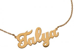 650x650px 8 Nice Cursive Name Necklace Picture in Hair Style