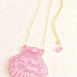 Shell Pendant , 8 Charming Ariel Shell Necklace In Jewelry Category