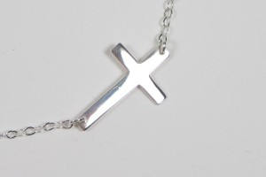 Jewelry , 6 Best Sideways Cross Necklace Meaning : Sideways Cross Necklace Meaning