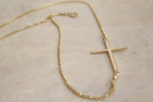 Jewelry , 8 Nice Sideway Cross Necklace : Sideways Cross Necklace