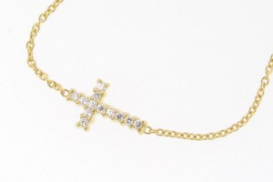 Jewelry , 8 Stunning Sideways Cross Necklace Kelly Ripa : Sideways Cross Necklace