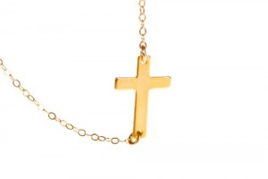 500x375px 6 Best Sideways Cross Necklace Meaning Picture in Jewelry
