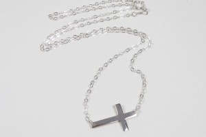 Jewelry , 7 Awesome Meaning Behind Sideways Cross Necklace : Sideways Cross Necklace