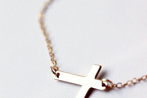 Jewelry , 8 Fabulous Roseark Sideways Cross Necklace : Sideways Cross Necklace