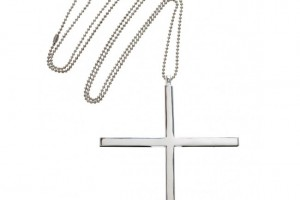 Jewelry , 7 Lovely Horizontal Cross Necklace Meaning : Silver Large Square Cross Necklace