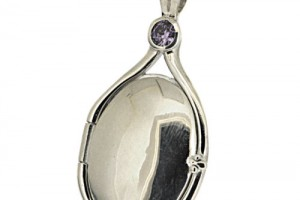 Jewelry , 7 Excellent H2O Just Add Water Locket Necklace : Silver Purple pendant