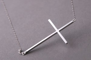 600x600px 8 Fabulous Roseark Sideways Cross Necklace Picture in Jewelry