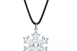 Jewelry , 7 Wonderful Tiffany Snowflake Necklace : Snowflake Charm Necklace