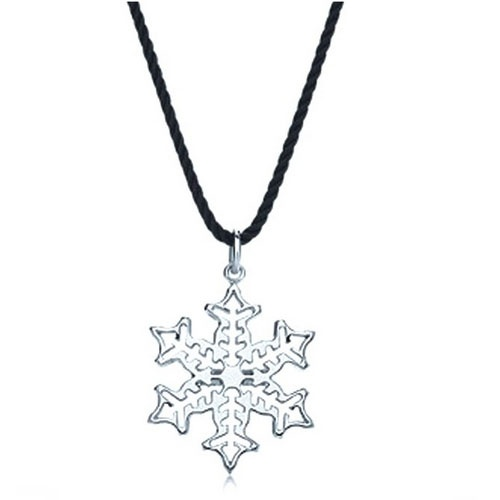 7 Wonderful Tiffany Snowflake Necklace Woman Fashion