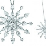 Snowflake Diamond pendant , 7 Wonderful Tiffany Snowflake Necklace In Jewelry Category