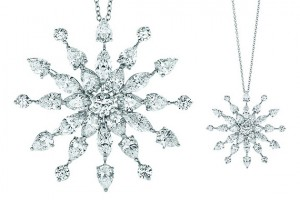 Jewelry , 7 Wonderful Tiffany Snowflake Necklace : Snowflake Diamond pendant