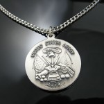 Solid Sterling Silver , 7 Cool Saint Christopher Protect Us Necklace In Jewelry Category