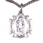 St Florian SILVER Necklace , 8 Popular ST Florian Necklace In Jewelry Category