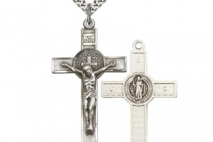 Jewelry , 6 Fabulous St Benedict Crucifix Necklace : St. Benedict Crucifix Pendant