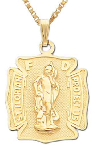 Jewelry , 8 Popular ST Florian Necklace :  St. Florian Firefighter Pendant