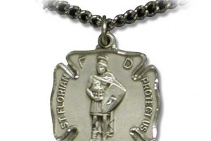 Jewelry , 8 Popular ST Florian Necklace : St. Florian Necklace