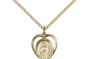 Jewelry , 7 Gorgeous Saint Jude Necklace : St. Jude Pendant Saint Medal