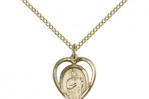 Jewelry , 7 Gorgeous Saint Jude Necklace : St. Jude Pendant Saint Medal