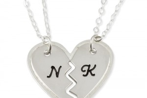 Jewelry , 7 Stunning Breakable Heart Necklace : Sterling Silver Couples