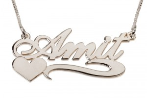 Hair Style , 8 Nice Cursive Name Necklace : Sterling Silver Cursive Name Necklace