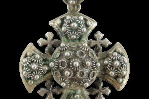 Jewelry , 8 Good Crusader Cross Necklace : Sterling Silver Jerusalem