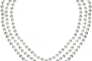 500x500px 7 Stunning Jackie Kennedy Pearl Necklace Picture in Jewelry