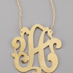 Swirly Initial Necklace , 7 Good Jennifer Zeuner Swirly Initial Necklace In Jewelry Category