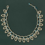 Tatted summer necklace , 8 Nice Tatted Necklace Pattern In Jewelry Category