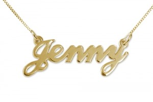 Jewelry , 8 Fabulous 3D Nameplate Necklace : This classic sterling