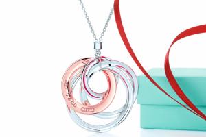 Jewelry , 6 Stunning Tiffany Interlocking Circles Necklace : Tiffany interlocking circles necklace