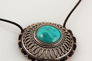 Jewelry , 8 Popular Barse Turquoise Necklace : Turquoise Pendant