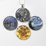 Van Gogh Necklace , 8 Gorgeous Interchangeable Magnetic Necklace In Jewelry Category