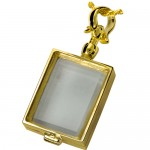 Victorian Glass Rectangle Locket , 8 Gorgeous Locket Necklace For Ashes In Jewelry Category