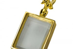 Jewelry , 8 Gorgeous Locket Necklace For Ashes : Victorian Glass Rectangle Locket