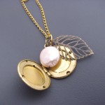 Vintage Locket Charm Necklace , 7 Popular Locket Necklace With Charms Inside In Jewelry Category