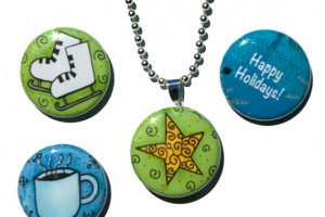 Jewelry , 8 Gorgeous Interchangeable Magnetic Necklace : Winter Interchangeable Necklace Set