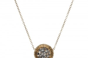Jewelry , 8 Awesome Dana Kellin Necklace : Woven Diamond Disc Necklace