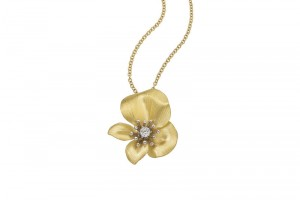 Jewelry , 8 Nice Roberto Coin Cento Necklace : Yellow Flower Pendant