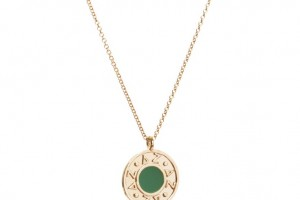Jewelry , 8 Good Delta Zeta Necklace : Yellow Gold Enameled Odyssey