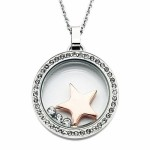 additional crystal accents , 7 Popular Locket Necklace With Charms Inside In Jewelry Category