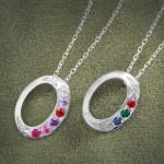 Aquamarine Jewelry , 9 Fabulous Grandchildren Birthstone Necklace In Jewelry Category