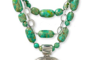 600x920px 8 Popular Barse Turquoise Necklace Picture in Jewelry