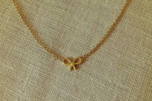Jewelry , 6 Fabulous Dogeared Bow Necklace : bow necklace